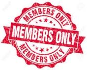 alleen voor leden